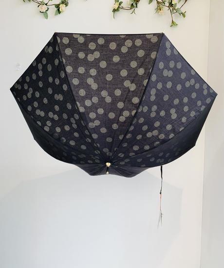 晴雨兼用傘 ボーダー&ドット
