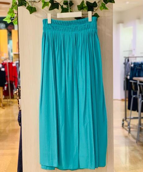 ギャザーカラースカート