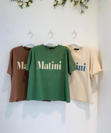 LOGOTシャツ martini