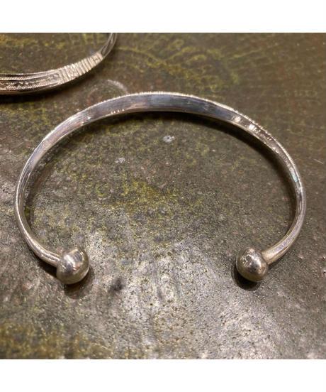 Touareg Silver(トゥアレグ シルバー) bangle A13 (Rhombus bangle)