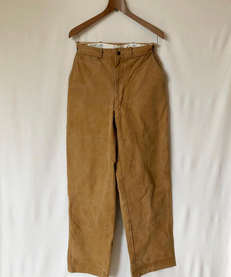 "Used ""Brown Color"" Wear   60s Duxbak  Hunting Wide Pants  Unisex"