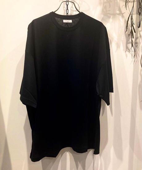 SUNNYSIDERS(サニーサイダーズ) Mercerization Oversized Tee(シルケット加工オーバーサイズTシャツ)