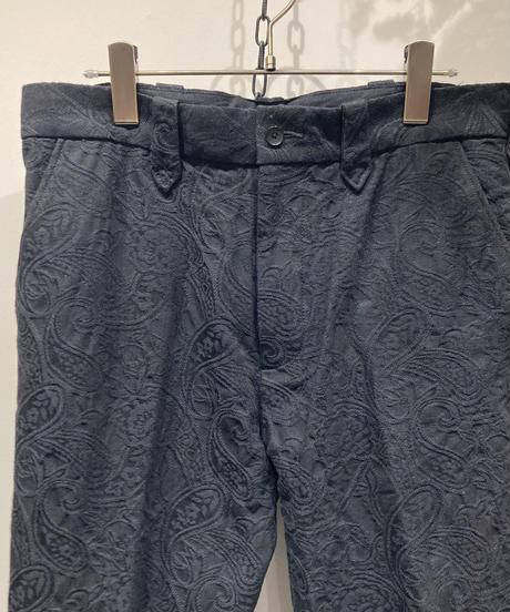 FACCIES(ファッチーズ) SULFUR JACQUARD FLARE PANTS (サルファージャカードフレアパンツ)