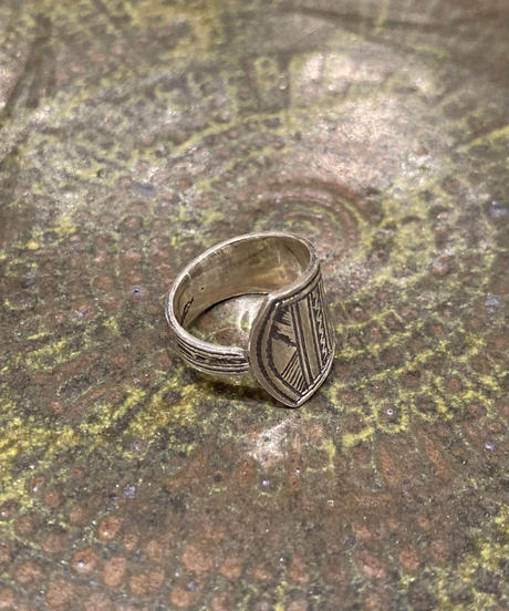 Touareg Silver(トゥアレグ シルバー) ring 06(asymmetry / spoon)