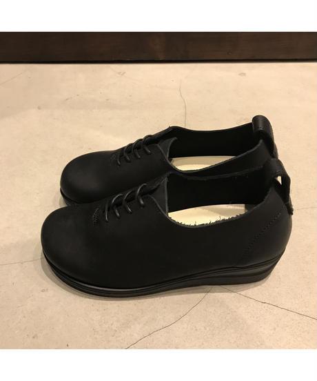 AROA(アロア)オイルドレザーシューズ  LIETO-BLACK SOLE