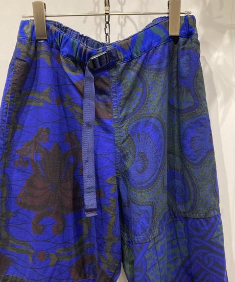 TIGRE BROCANTE (ティグルブロカンテ) African Batik Easy Tapered Pants(アフリカンバティックイージーテーパードパンツ)