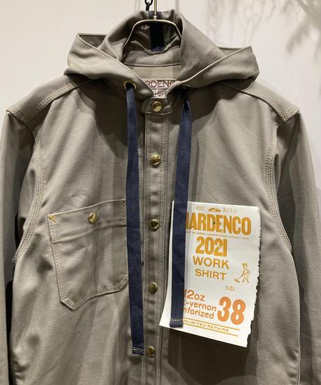 HARDENCO(ハーデンコー) 12oz DUCK Work Shirts W/Hood