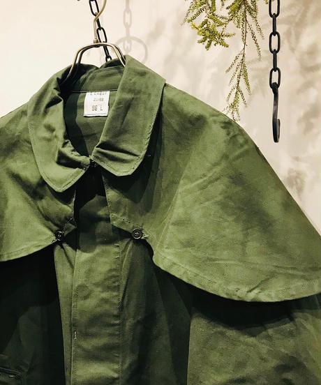 """Vintage """"French Army"""" Cotton Frock Coat"""
