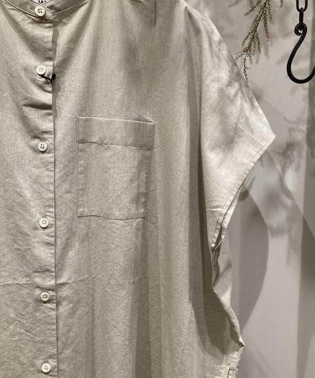 JAMES&CO. STANDARD SHIRT ジェームスアンドコー.スタンダードシャツ) Band Collar Dress Sleeveless(バンドカラードレススリーブレス)