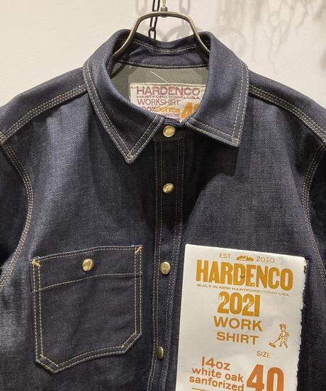 HARDENCO(ハーデンコー) 14oz CONE MILLS DENIM Work Shirts