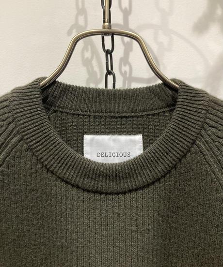 DELICIOUS(デリシャス) Lamb Wool Knit(ラム ウール ニット)