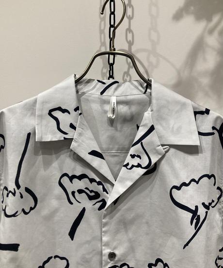 WANDERUNG(ワンデルング) OPEN COLLAR SHIRT(オープンカラーシャツ)