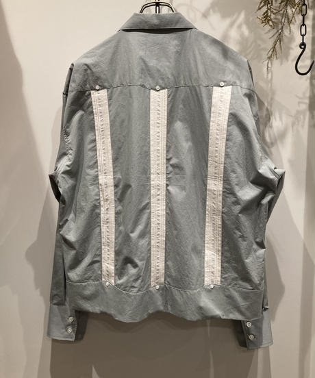 FACCIES (ファッチーズ ) OUMI BLEACJING CUBAN SHIRT(近江晒しキューバシャツ)