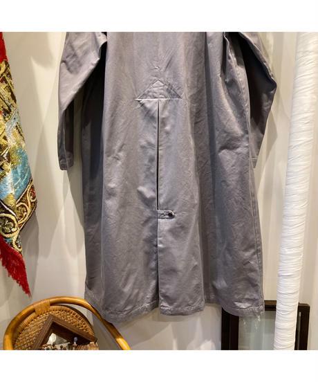 HARVESTY (ハーベスティ)  CHINO CLOTH OVER COAT_GRAY (チノオーバーコート)