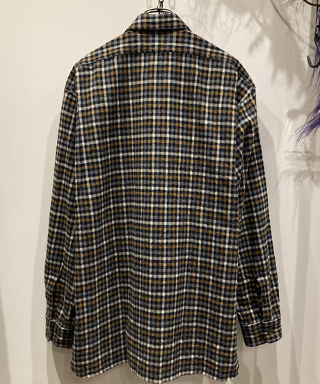 FUJITO (フジト)  Cotton Flannel Fatigue Shirt(コットンフランネルファティーグシャツ )