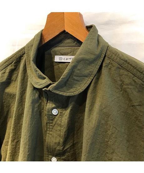 CATTA(カッタ)  SIDE POCKET RIP STOP SHIRTS サイドポケットリップストップシャツ
