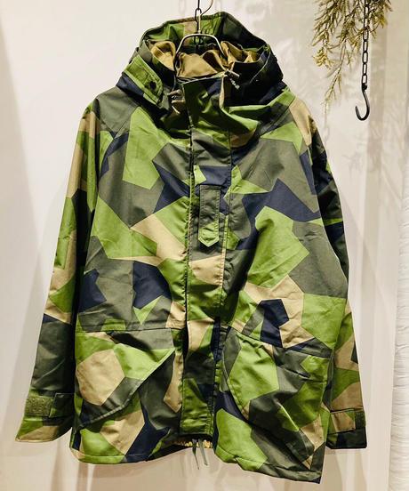 "Vintage""military"" 00's SWEDISH ARMY ECWCS PARCA  SWEDISH CAMO  00's スウェーデンアーミー エクワックスパーカー カモフラ"
