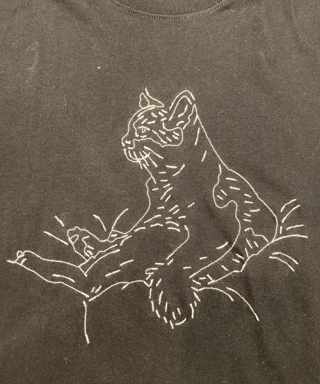 どんこさん×「COFFEE OR TEE」刺繍長袖Tシャツ