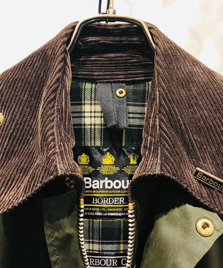 "Vintage Barbour ""BORDER"" Waxed cotton"