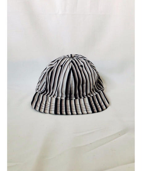 SOWBOW(ソウボウ) 蒼氓6PANEL CAP 小倉織 KOKURA-ORI MONOCHROME