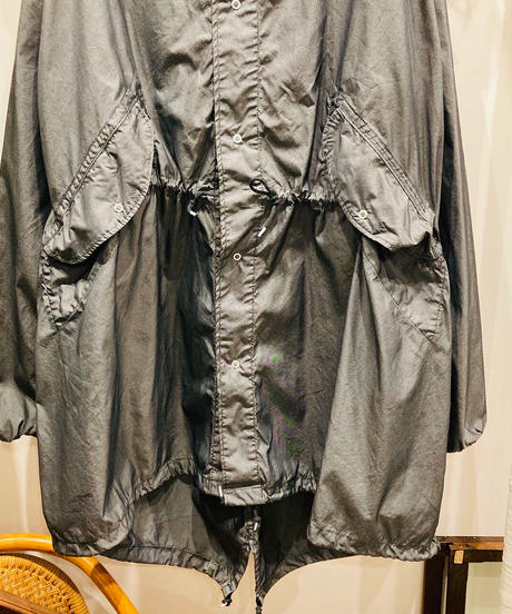 "Used ""military"" item US ARMY  SNOW CAMOUFLAGE PARKA  (Overdye)"