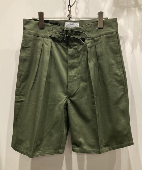 "military ""Dead Stock"" Australia PX Gurkha  Shorts (70's オーストラリア軍PXグルカショーツ)"