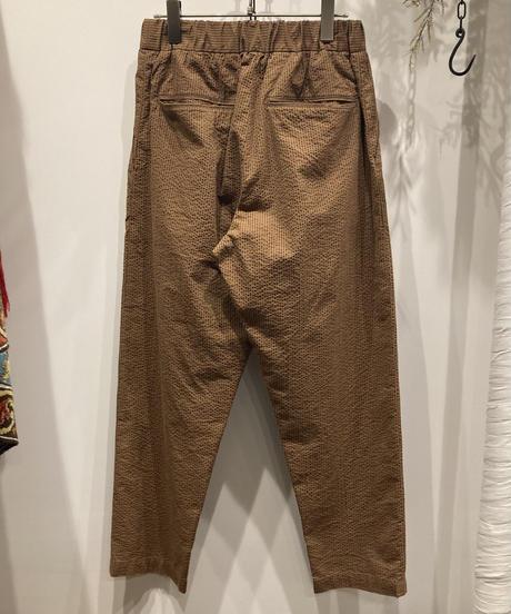 FUJITO (フジト)  SEERSUCKER EASY PANTS(シアサッカーイージーパンツ)