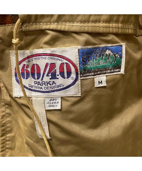 "Vintage""Outdoor"" 70's SIERRA DESIGNS 60/40 Mountain Parka  70's シエラデザインズ 60/40 マウンテンパーカー"