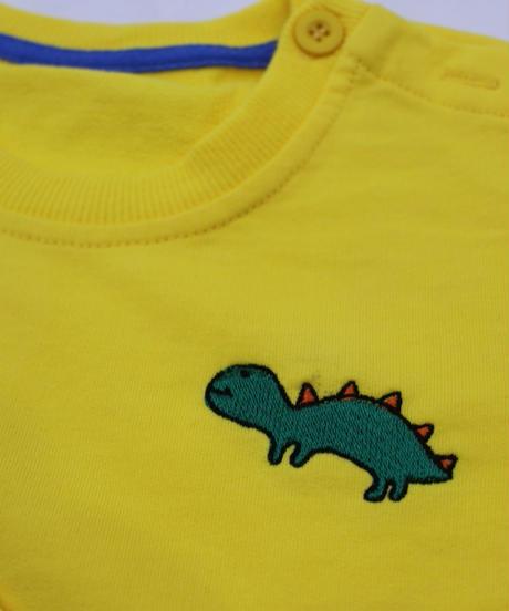 恐竜刺繍トレーナー
