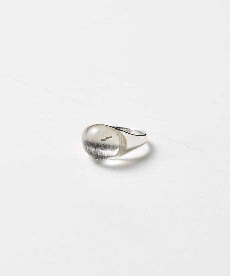Himalaya Quartz mini Rock Ring /Round