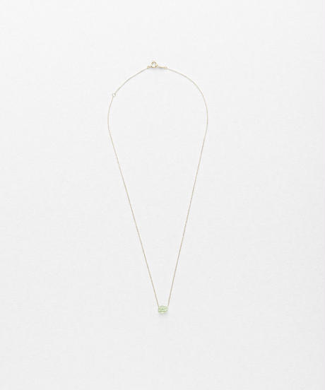 Green Grossular Top Necklace