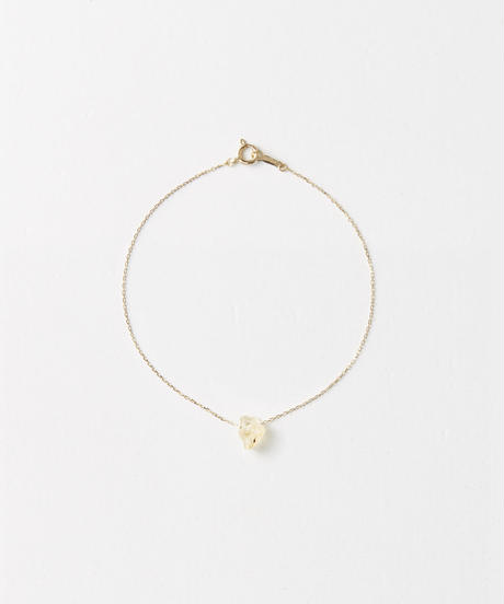 Gold Grossular Garnet Loop Bracelet