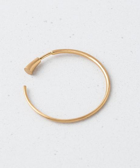 wedge hoop L / K18YG