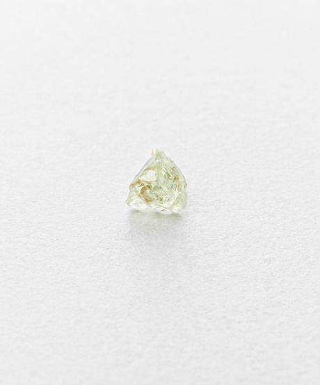 Green Grossular Rock Earring