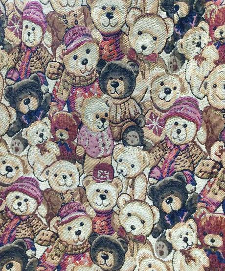 くまさんのゴブラン織ジャガードスカート(NO.7795)