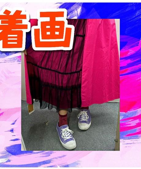 ❤️個性的❤️切り替えスカート(NO.7992)