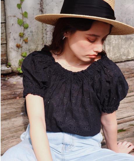 cutwork lace blouse