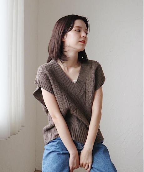 fall knit vest
