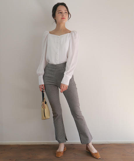 joie gingham pants