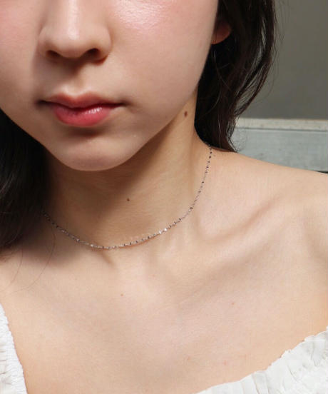 shiny chain necklace