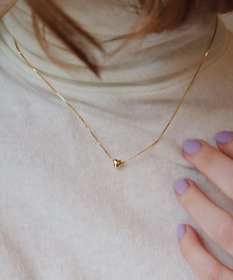 petit heart necklace