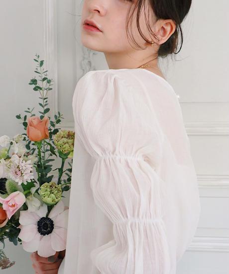 bell pleats blouse