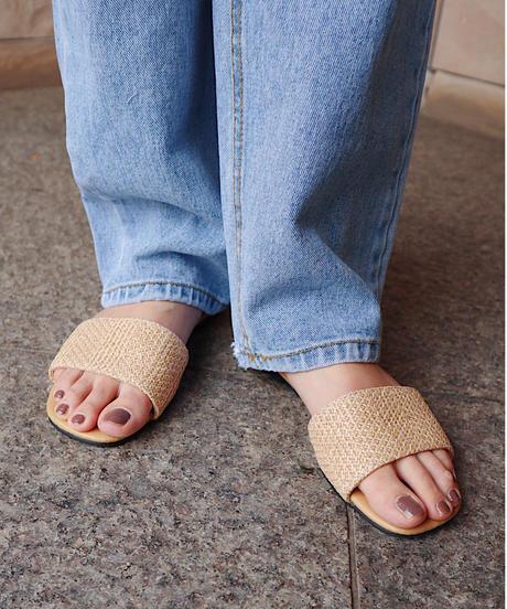 jute rough sandal