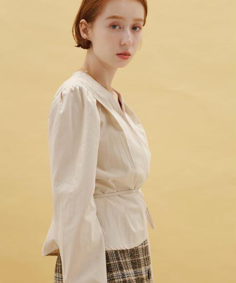 cache-coeur blouse