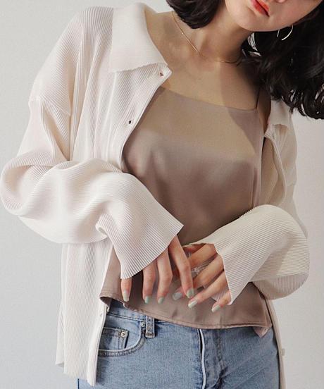 pleats shirt