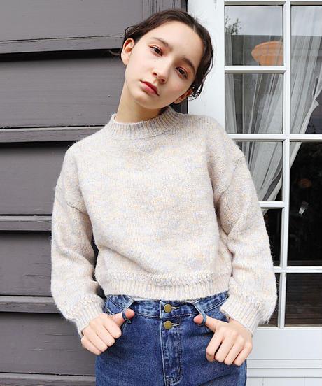 mix color knit