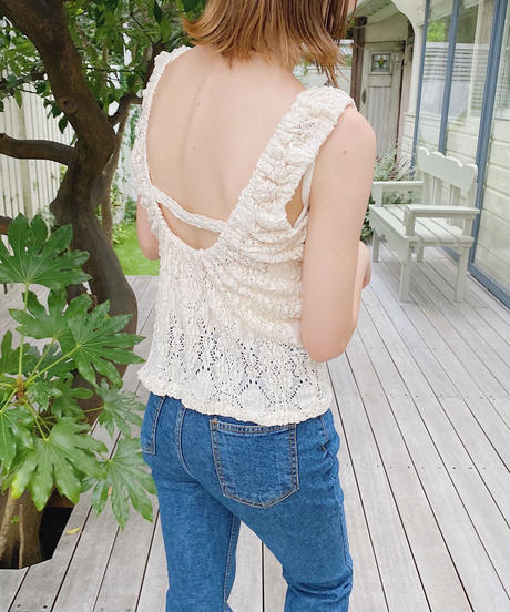 crumply lace tops