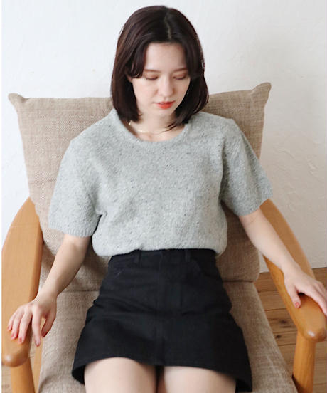 ss mannish  knit
