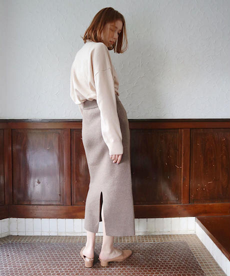 pencil knit skirt