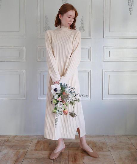 modern knit one-piece